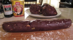 Mexican Mole Cookies Roll
