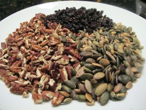 Pecans, Pepitas and Currants