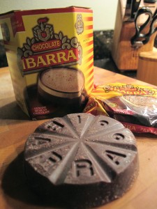 Chocolate Ibarra tablet