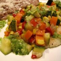 Tortitas de Papa y Masa con Verduras