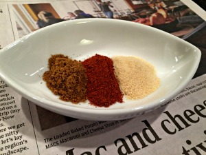 Cumin Paprika Garlic Powder