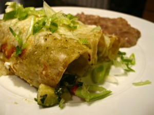 Enchiladadas de verduras
