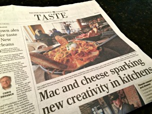 WSJ Food Section Mac and Cheese
