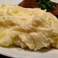 Mashed Potatoes with Oaxaca Cheese