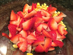 Strawberry and Corn