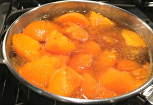 Apricots Softened