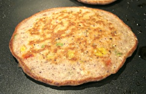 Blue Corn Pancake Cooked