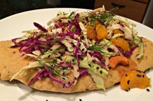 Crunchy Thai Flatbread Pizza