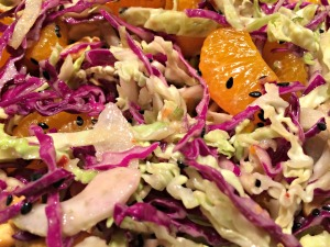 Thai Pizza Salad Mix with Dressing