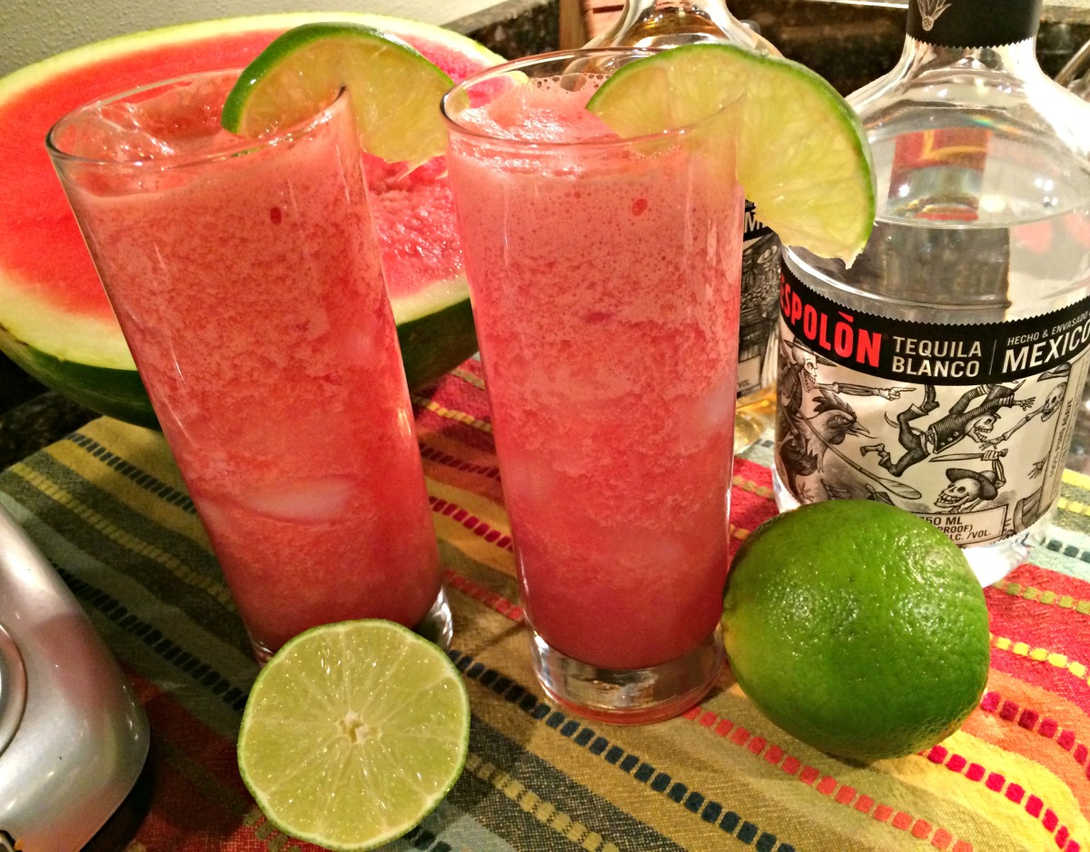 Watermelon and Tequila Cooler