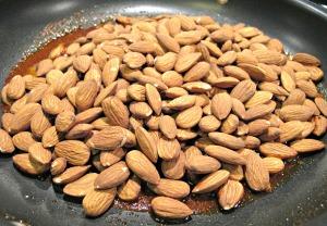 Add the Almonds