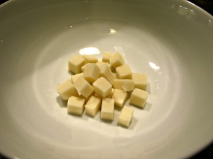 Cubed Monterey Jack Cheese