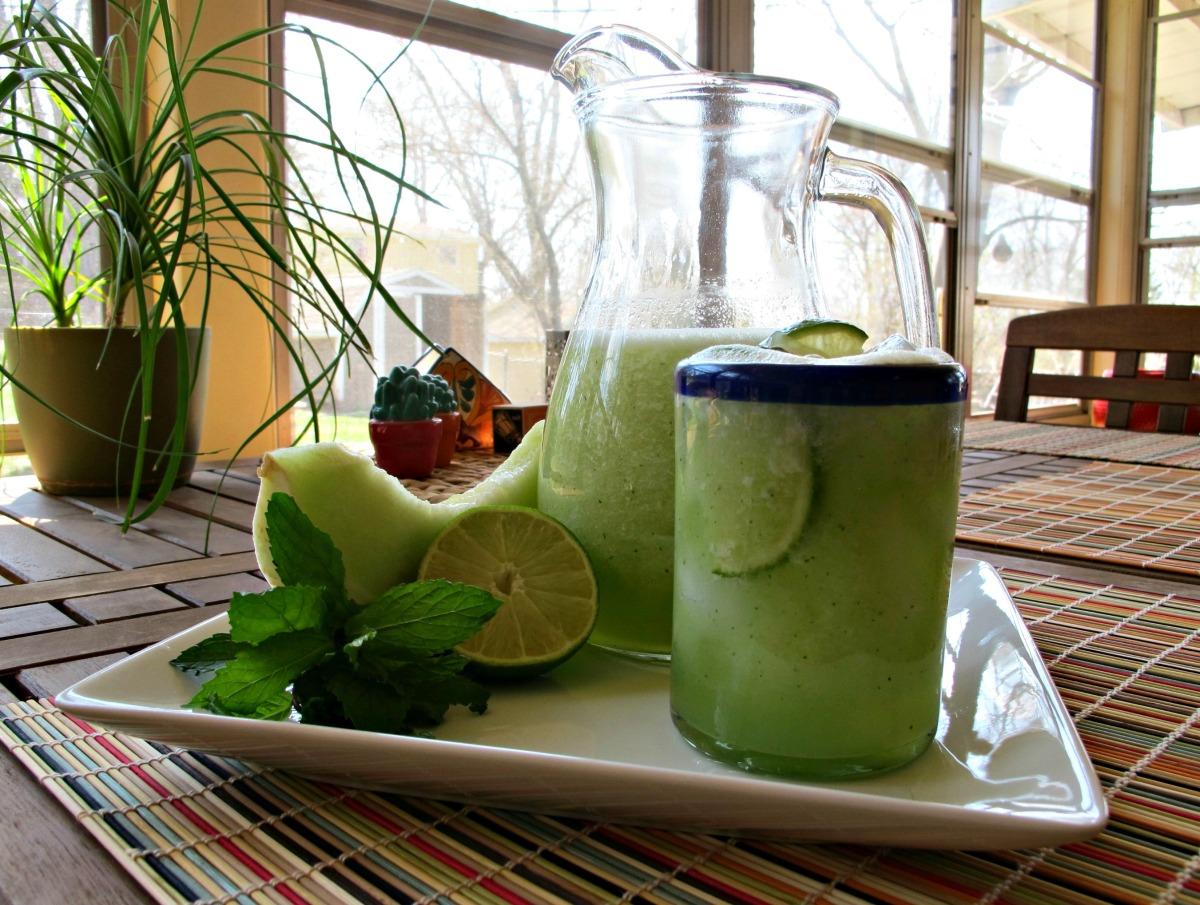 Agua Fresca de Melón Verde