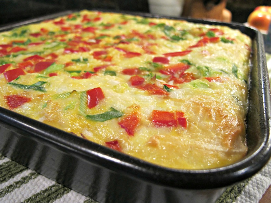 Cazuela de Huevos